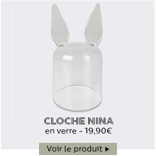 Cloche en verre Nina