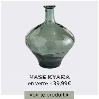 Vase en verre Kyara