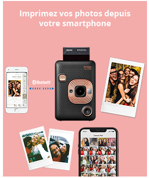 Imprimez vos photos depuis votre smartphone