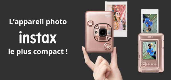 l'appareil photo le plus compact