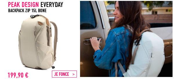 Peak design Backpack ZIP 15L Bone
