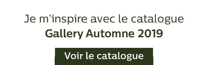 Je m'inspire avec le catalogue Gallery Automne 2019