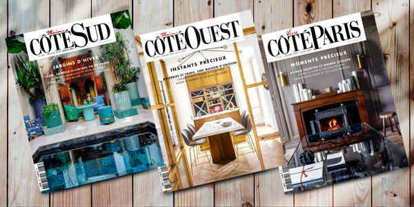 CÔTÉ MAISON - Votre magazine chez vous ! Abonnement 36€ pour 2 ans